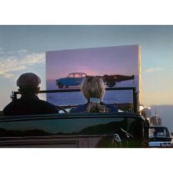 Drive-in elokuvaesitys...