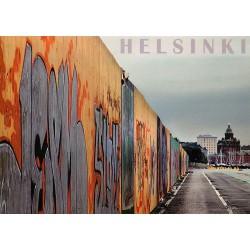 Sompasaaren graffitiseinä...
