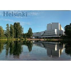 Finlandia-talo Töölönlahdella
