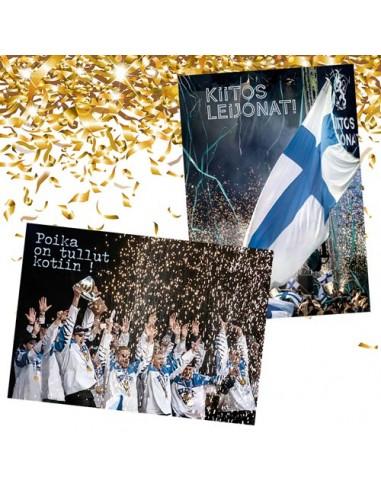Jääkiekon MM 2019 -postikorttisetti