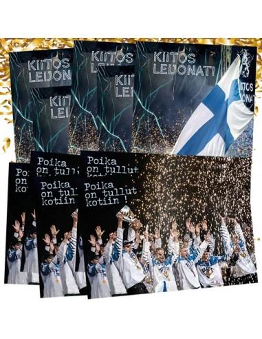Jääkiekon MM 2019 -postikorttipaketti