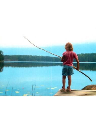 Poika kalassa