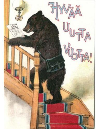 Jenny Nyström -uusivuosikortti