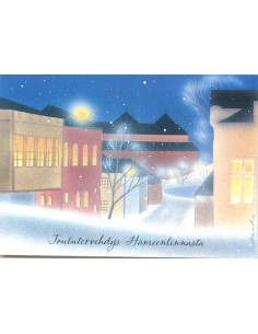 Jaana Aalto -joulukortti