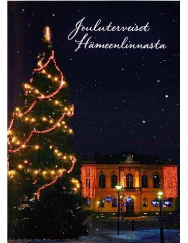 Hämeenlinna-joulukortti