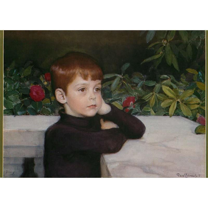 Taiteilijan pojan muotokuva