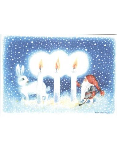Ulla Vaajakallio -joulukortti