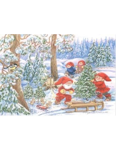Marjaliisa Pitkäranta -joulukortti