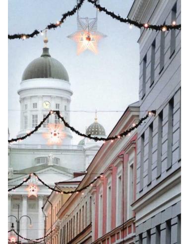 Sofiankatu ja Helsingin tuomiokirkko