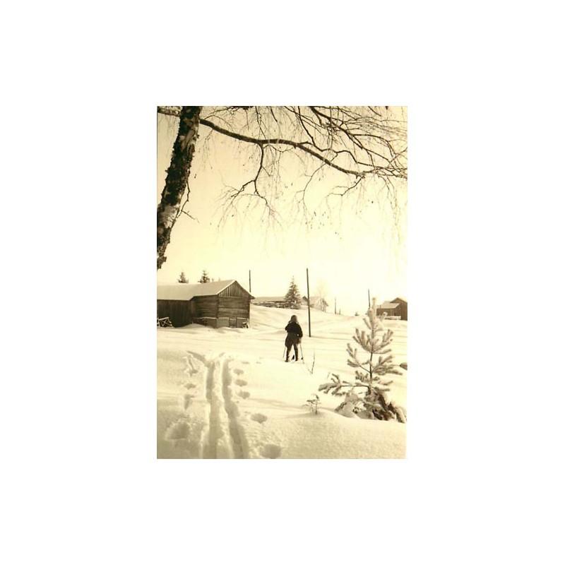 Hiihtäjä Kurkijoella, 1930-luku
